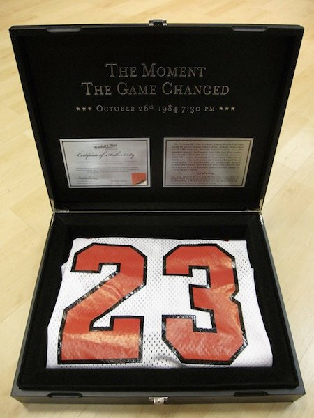 Michell And Ness Jordan Rookie Jersey