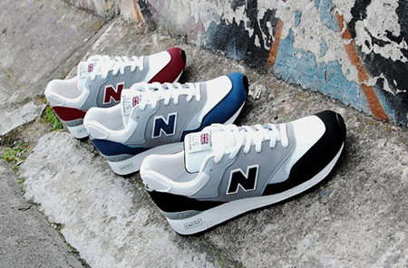 Overkill x New Balance 577 - Berlin Wall Pack