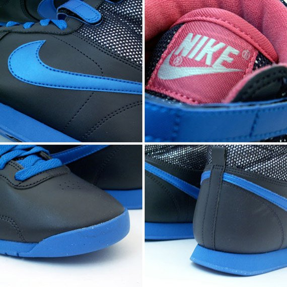 Nike Aerofit High Women's - Black / Blue - Pink