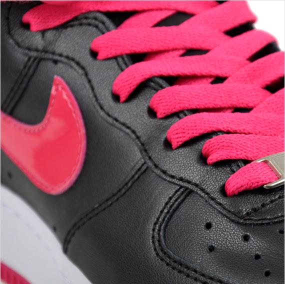 Nike Air Force 1 High '08 Women's - Black / Pink