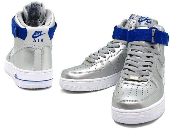 Nike Air Force 1 High 08 - Metallic