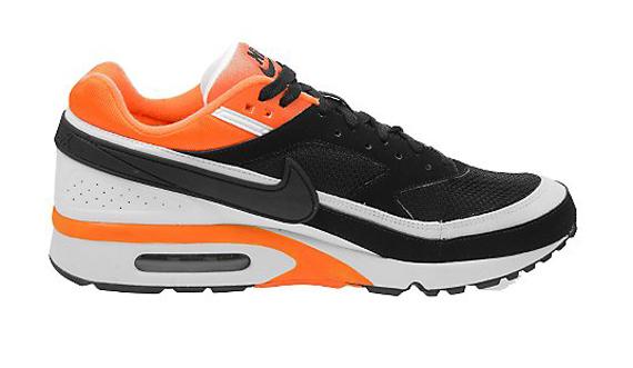 Nike Air Max Classic BW - Black / White - Neon Orange
