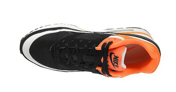Nike Air Max Classic BW - Black / White - Neon Orange