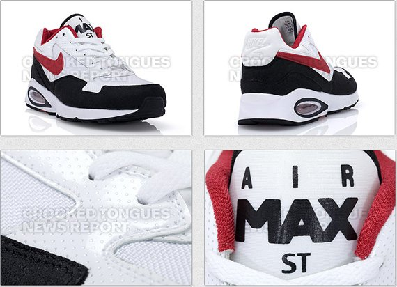 Nike Air Max ST Retro - White / Black - Red