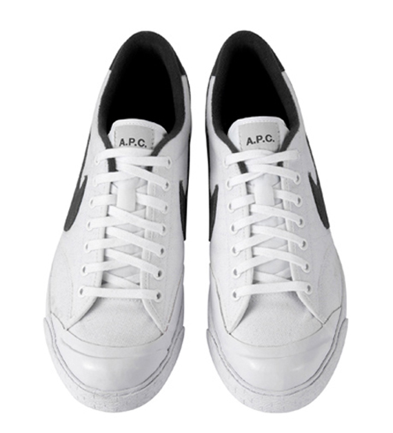 A.P.C. x Nike All Court Premium - White / Black