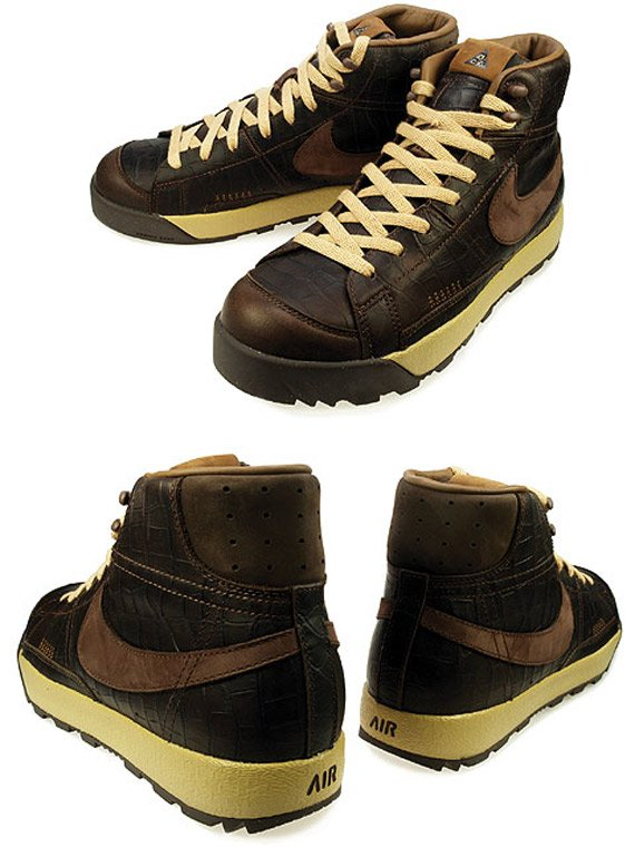 ... Nike Blazer Mid ACG - Light Chocolate Dark Cinder nike blazer boot ...