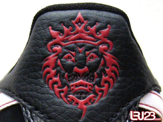 Nike Zoom LeBron VI Low - Black / White - Varsity Red