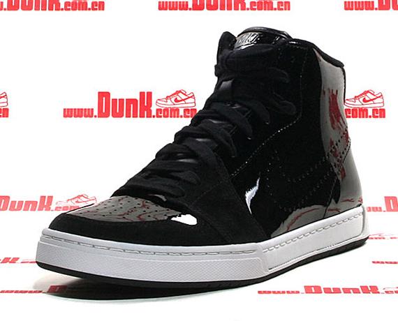 Nike Air Royal Mid - Black Patent