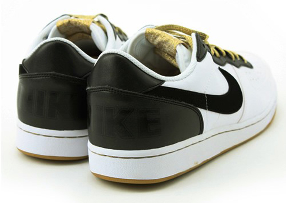 Nike Terminator Low Basic - White / Black - Gold