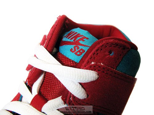 1c105d6d646 50%OFF Nike SB Dunk High Bloody Gums Detailed Images - www ...