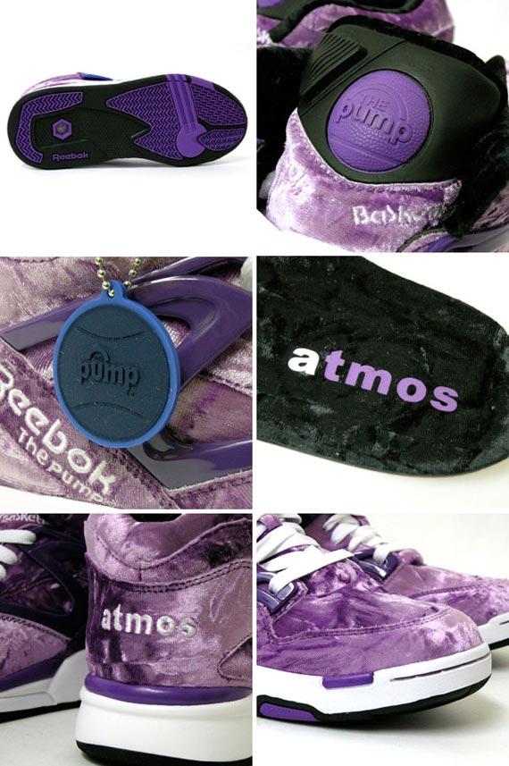 atmos x Reebok Velour Pack - Court Victory Pump & Pump Omni Lite