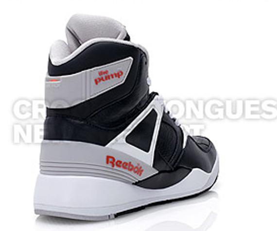 Reebok The Pump - Black / White