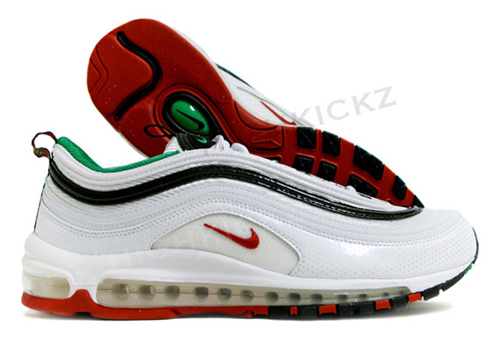 air max 97 black red and green