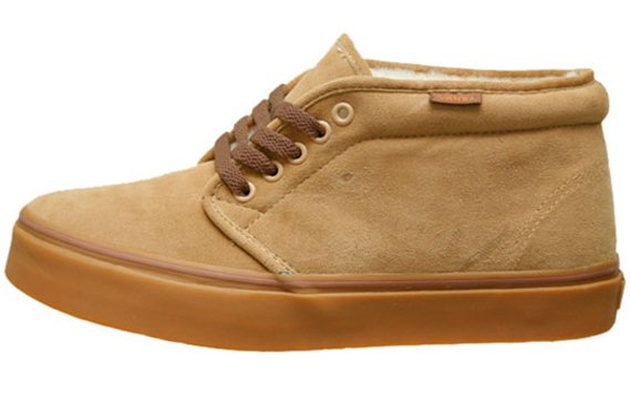 Vans Chukka Fleece - Fall 2009