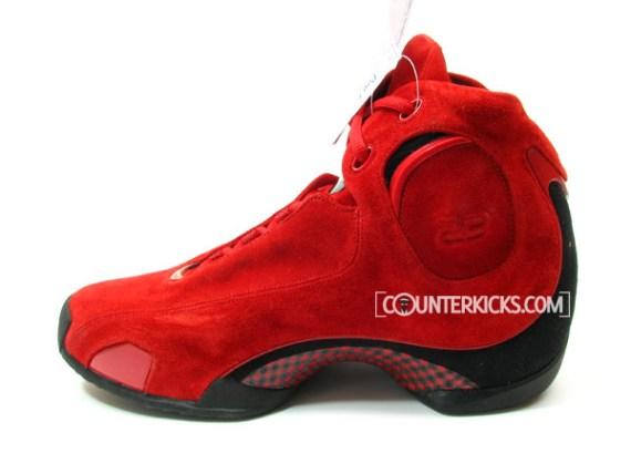 Air Jordan XXI (21) Red Suede Prototype