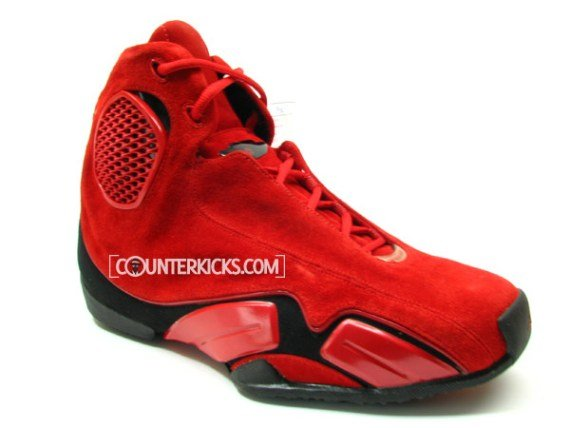 a9b2243325eef3 Air Jordan XXI (21) Red Suede Prototype