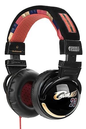 Cavs LeBron NBA Headphones