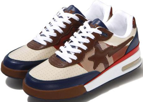 separation shoes 7262b 9ae3a a bathing ape holiday 2009 roadsta check