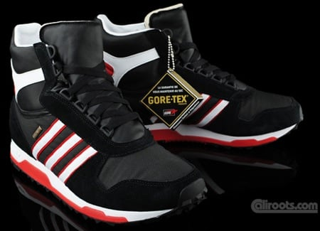 The adidas Originals Tokyo high pictured here sports a predominantly black