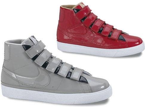 best website 942e0 f2c36 Nike Blazer High LE Velcro Holiday 2009 Collection ...