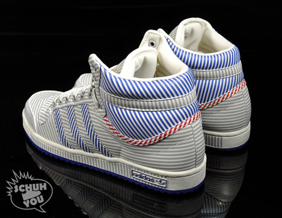 Adidas Top Ten Hi - 60 Years of Soles and Stripes