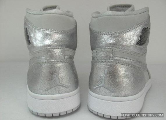 Air Jordan I (1) Retro Hi - Silver Anniversary Collection