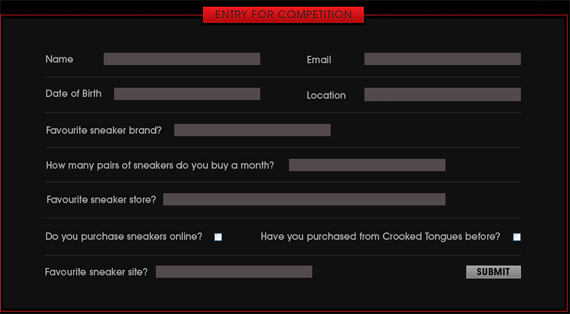 Crooked Tongues 52 Shoes Giveaway Contest