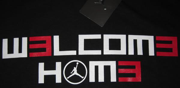 Jordan Brand W3lcom3 Hom3 Dwyane Wade T-Shirt