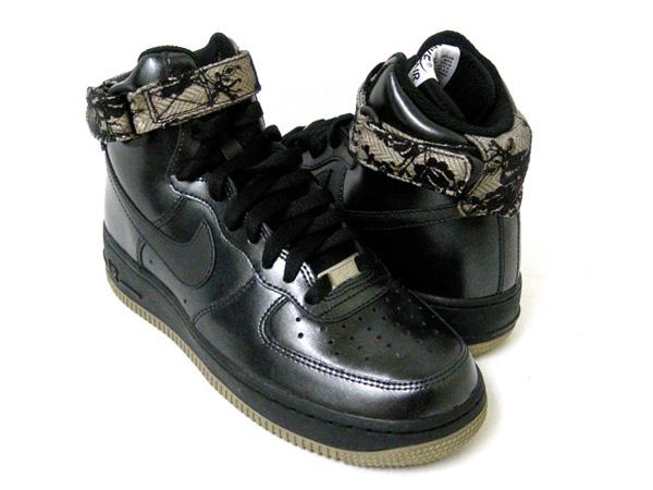Nike Air Force 1 High Womens Black Gum Light Brown