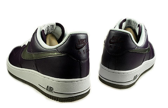 Nike Air Force 1 Women's - Grand Purple / Pewter