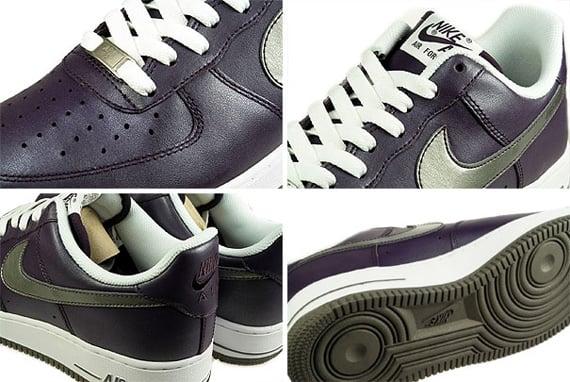 Nike Air Force 1 Women's - Grand Purple / Pewter