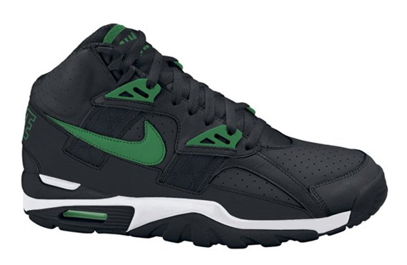 Nike Air Trainer SC Retro - Black / Green - White