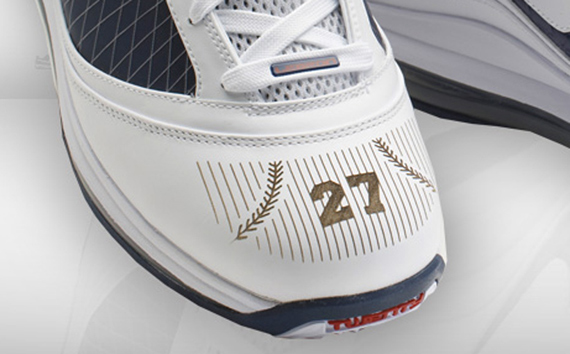 Nike Air Max LeBron VII (7) - NY Yankees