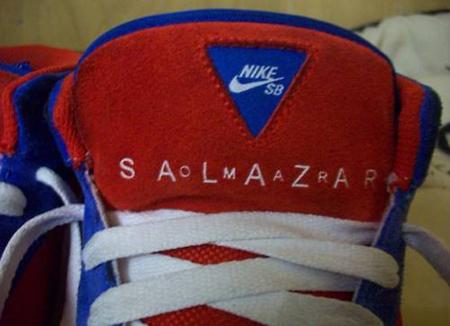 Nike SB Omar Salazar Pro Model - Red / White / Blue Sample