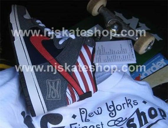 NJ Skateshop x Nike SB Dunk High Sample - NJ/USA