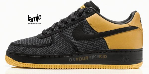 Nike x Undefeated Livestrong Air Force 1