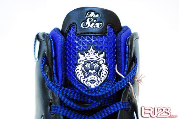 Nike Zoom LeBron VI (6) - Black / White / Blue Sample