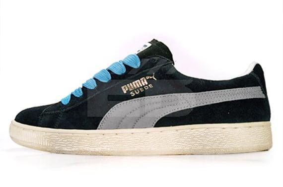Puma Suede - Pirate / Limestone / Blue Mist