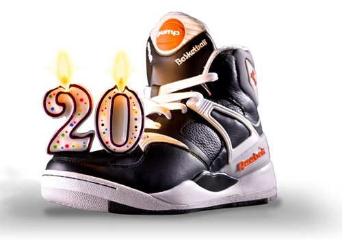 Reebok Pump - 20th Anniversary Collection  f718c80954