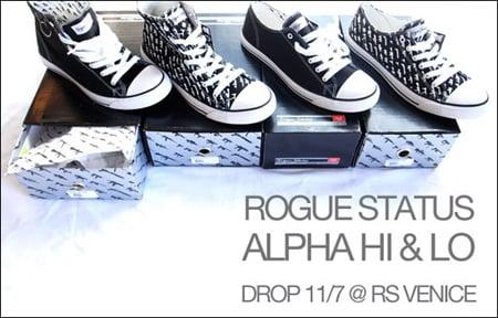Rogue Status Alpha Low & High - November 2009