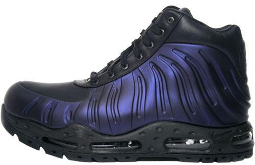 64ada2e1c6f4 Nike Air Foamposite Eggplant Boot Available at UTA