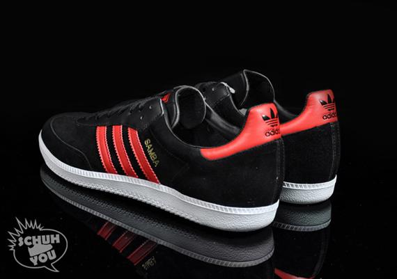Adidas Samba - Chicago Bulls