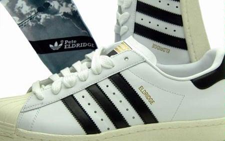 Adidas Eldridge Superstar - White / Black / Chalk