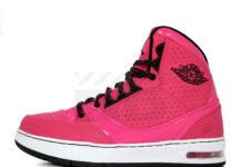 Air Jordan Classic '91 GS - Coral Rose / Black - Vivid Pink - White