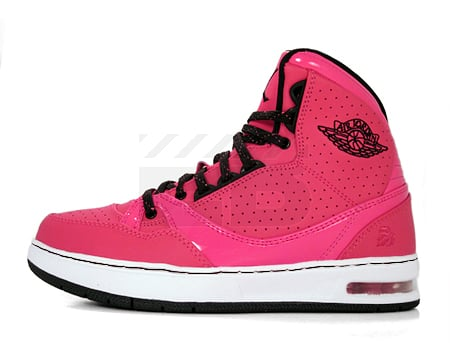 Air Jordan Classic '91 GS - Coral Rose / Black - Vivid Pink - White