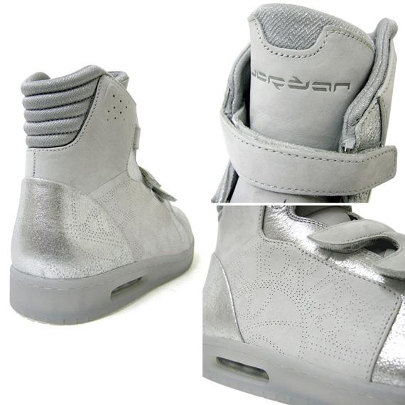 Air Jordan L'Style One - Neutral Grey / Metallic Silver