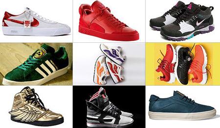 BusinessWeek's '25 Coolest Sneaker Designs of 2009'