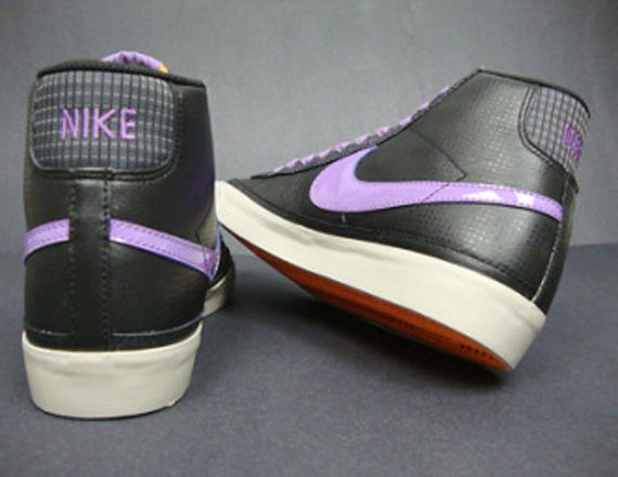 Nike Blazer Mid '09 ND Women's - Black / Violet
