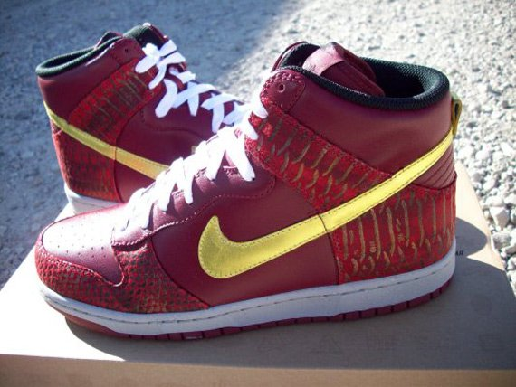 Nike Dunk High Premium West - Eddie Cruz