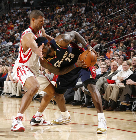 On Court: LBJ Breaks Out China Moon Nike LeBron VII